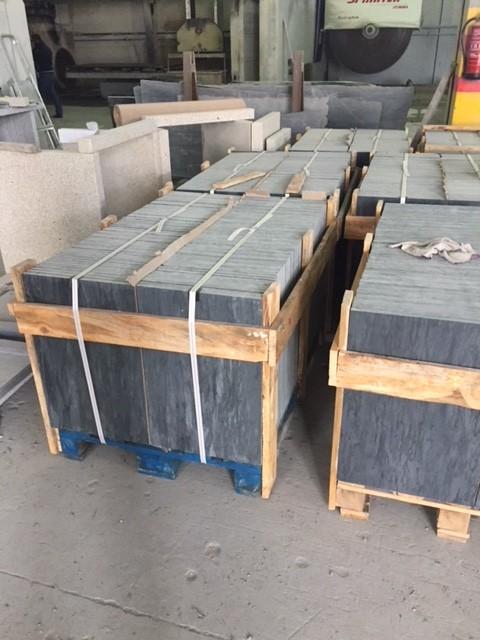 Schiefer Platten  gebürstet (2)